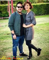 كريم عفيفي و زوجته