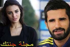 توفانا و حبيبها البيريك لاعب كرة القدم التركى