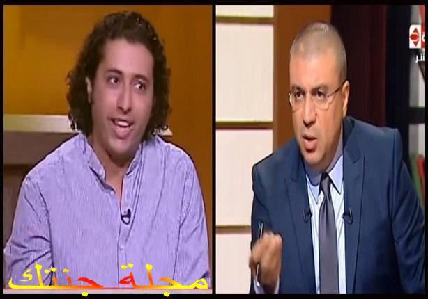 صلاح الدالي مع الاعلامى عمرو الليثي في استضافته بالبرنامج