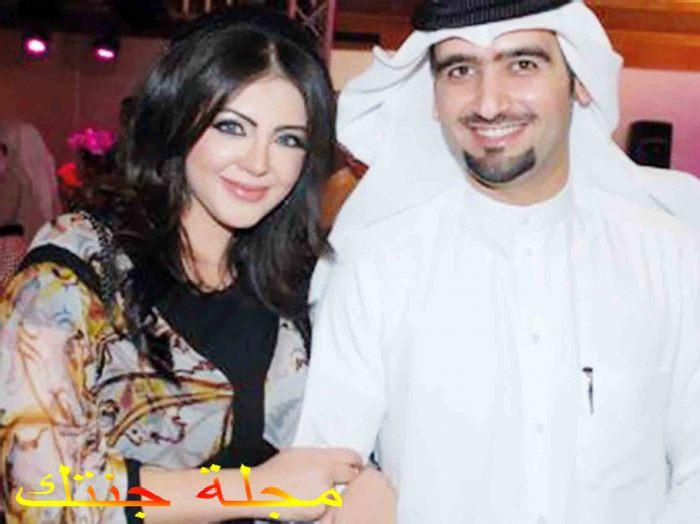 احمد ايراج و زوجته