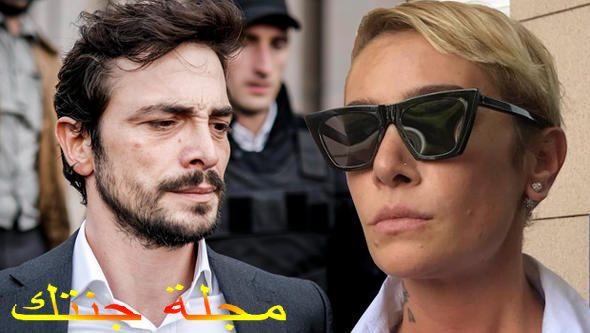احمد كورال و المطربة سيلا بعد المحاكمة