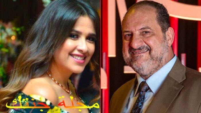 الفنان خالد الصاوى مع الفنانة ياسمين عبد العزيز في المسلسل