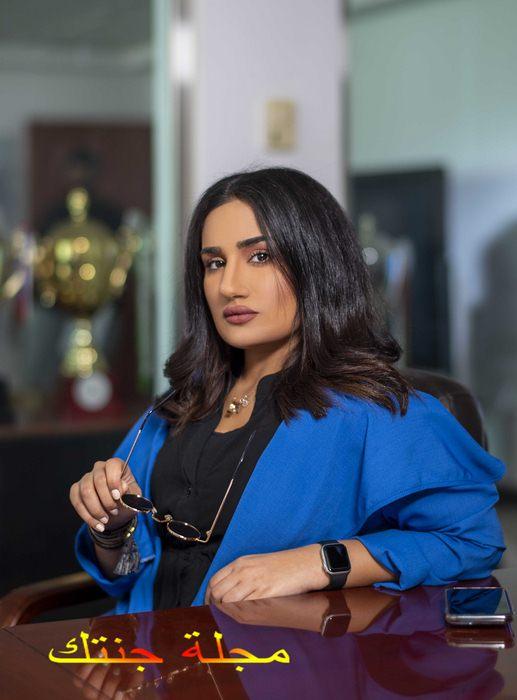 الممثلة سارة القبندى