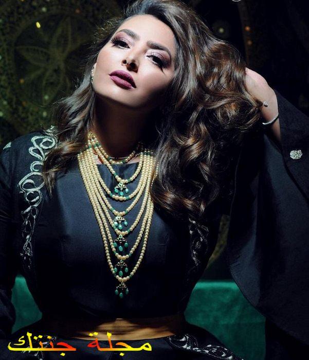 النجمة الكويتية فاطمة الصفي