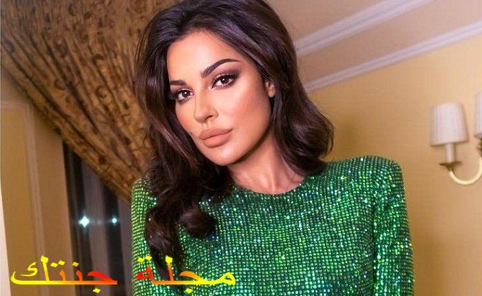 الفنانة نادين نجيم بطلة مسلسل صالون زىزى
