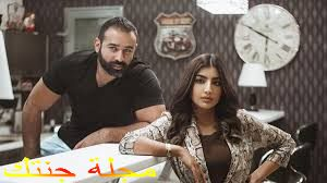 الفنان بشار الشطى و الفنانة بثينة الرئيسي