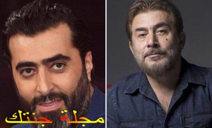 الفنان عابد الفهد و الفنان باسم ياخور
