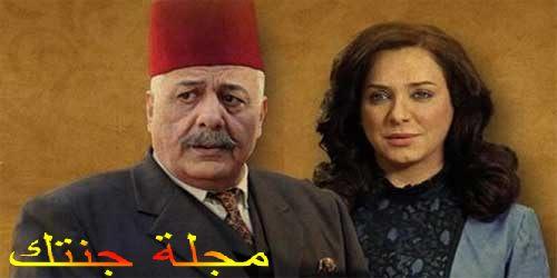 ايمن زيدان و سلاف فواخرجى ابطال المسلسل
