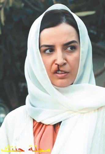 نورة العقيلي في مسلسل بين انف و شفتين