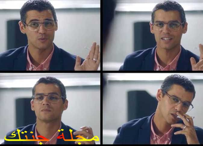 حسين نصار بشخصية رامى في مسلسل في بيتنا روبوت