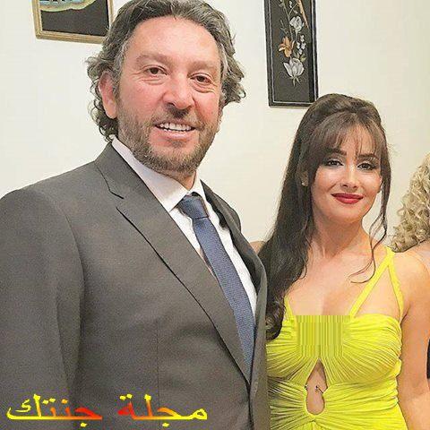 كندة حنا مع زوجها