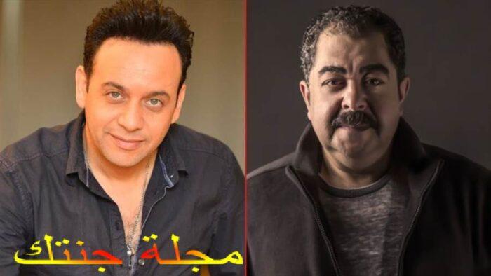 مصطفي قمر و الفنان طارق عبد العزيز