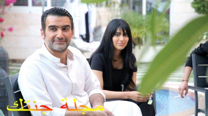 أحمد إيراج وشيلاء سبت في لقطة من المسلسل