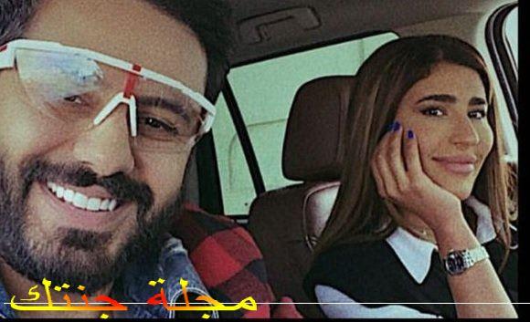 الفنانة ليلي عبدالله وعبدالله بوشهري