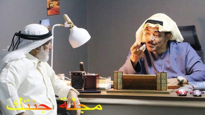 جمال الرادهان من كواليس مسلسل بنات مسعود