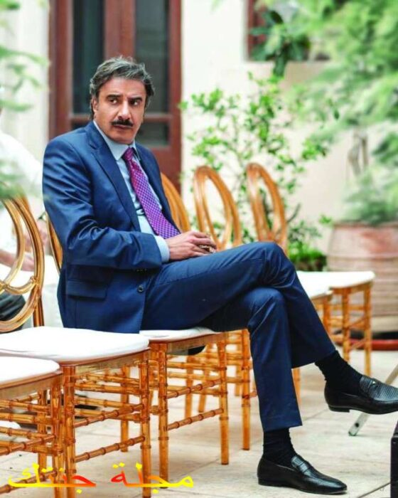 حسين المنصور بطل مسلسل سرك الخافي