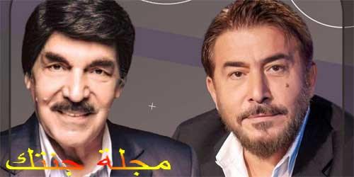 ياسر العظمة والفنان عابد فهد Wm