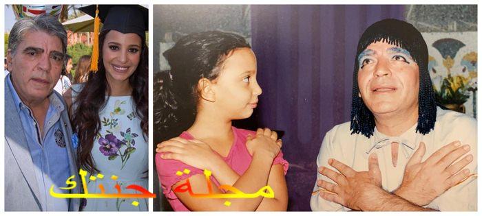 مريم الجندى و هى تمثيل و هى صغيرة مع والدها و بعد تخرجها من الجامعة