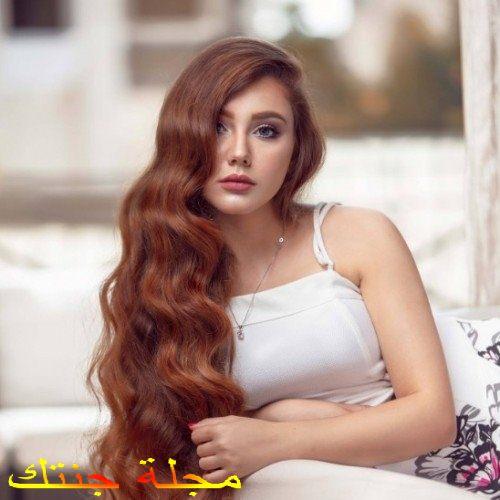 ياسمين البشبيشي في جلسة تصوير