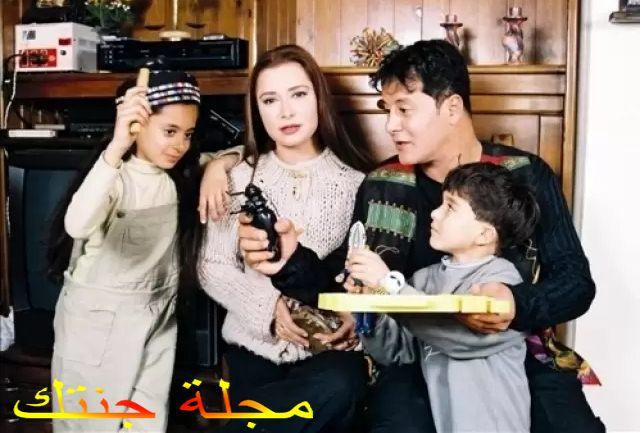 يوسف وائل نور مع اسرته و هو صغير