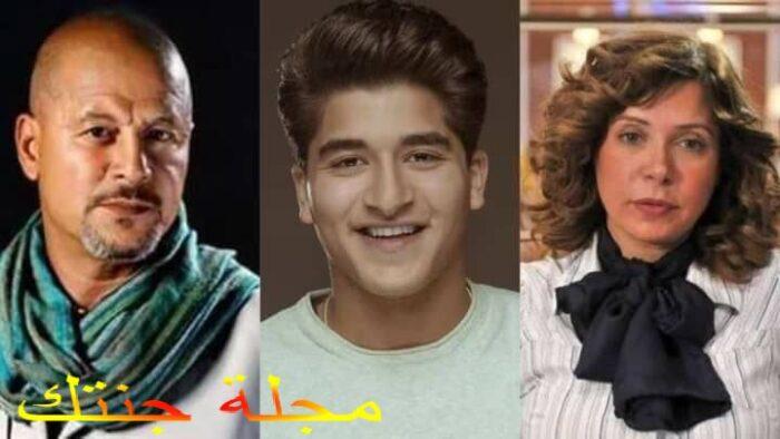 يوسف و الده ال راحل وائل نور و الدته الفنانة اميرة العايدى